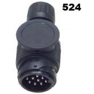 vidlice-zástrčka 12V 13P plast JAEGER