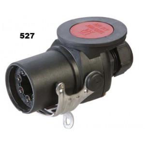 vidlice-zástrčka 24V 7P ABS/EBS ADR