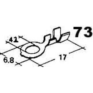 kabelové oko 4,2mm drát 0,5-2mm