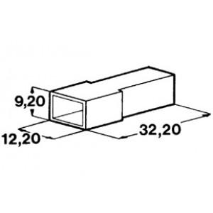 izolační kryt kolíku 6,3mm