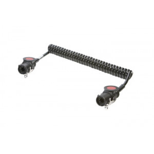 kabel spirálový 24V 7P EBS ADR 4,5m průměr spirály 50mm