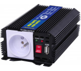 měnič napětí z 24V DC na 230V AC 300W trvale + USB výstup