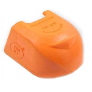 Krytk kloubu gumový SD-01/oranžový/