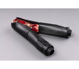 kleště bateriové 500A černé gumová izolace 165mm