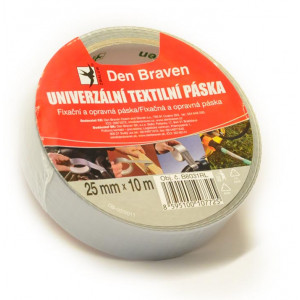 páska univerzální textilní 25mmx10m RL