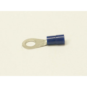 kabelové oko 6 mm drát 1,5-2,5mm izolované modré