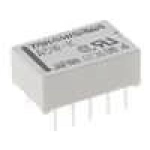 A-5W-K Relé elektromagnetické DPDT Ucívky:5VDC 0,5A/125VAC 1A/30VDC
