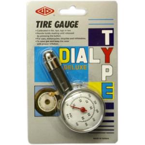 pneuměřič 4,5 atm. kovový