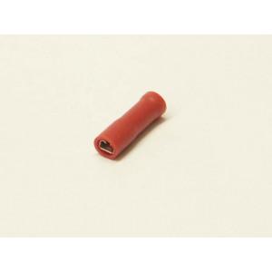 konektor 2,8mm 0,5-1,5mm dutinka izolovaná červená