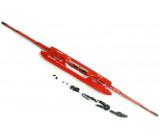stěrač ocelový červený 400mm