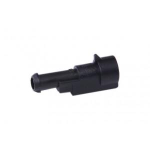 zástrčka vodotěsná 1,5 se zámkem 1 pin
