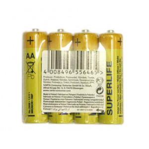 baterie VARTA Superlife tužkové R06 blistr 4ks