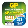 Knoflíková baterie do hodinek GP 392F papír. krabička