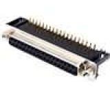 Zásuvka D-Sub 37 PIN zásuvka standard 9,4mm úhlové 90° THT