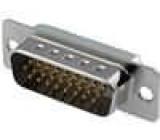 Zástrčka D-Sub HD 26 PIN vidlice přímý pájení na kabel