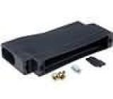 Kryt pro konektory D-Sub 37pin, D-Sub HD 62pin černá