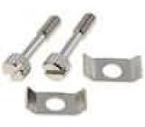 Sada šroubků pro D-Sub UNC4-40 závit7mm L:16,2mm