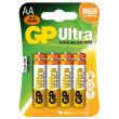 Alkalická baterie GP Ultra LR6 (AA), 6 ks + 2 ks v blistru