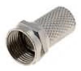 Vidlice F šroubovací 7 mm pro RG6 samec