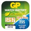 Knoflíková baterie do hodinek GP 395F papír. krabička