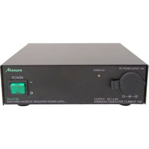 Zdroj Manson 13,8V=/10A SPA-8100 spínaný k radiostanicím