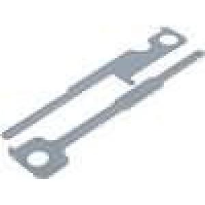 Klíče, vytahováky pro demontáž rádia Kenwood 2002