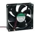 Ventilátor 12VDC 92x92x25mm 67,15m3/h 28dBA kluzné 1,3W
