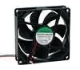 Ventilátor 24VDC 92x92x25mm 87,55m3/h 34dBA kluzné 2,1W