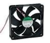 Ventilátor 24VDC 120x120x25mm 183,8m3/h 44,5dBA kuličkové