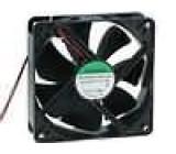 Ventilátor 48VDC 120x120x38mm 234,4m3/h 48dBA kuličkové