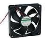 Ventilátor 12VDC 120x120x25mm 183,8m3/h 44,5dBA Vapo 5,4W