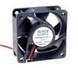 Ventilátor 48VDC 60x60x25mm 61,16m3/h 44dBA kuličkové