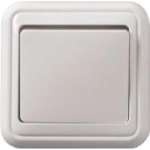 Vypínač č.1 PANELÁK bílý na omítku