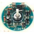Elektronická stavebnice regulátoru osvětlení max 100W