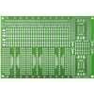 Univerzální plošný spoj s přechodem DIP-SMD 120x180mm