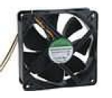 Ventilátor 24VDC 120x120x38mm 197,2m3/h 44dBA kuličkové