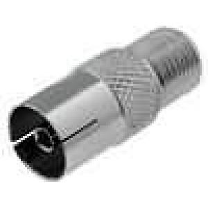 Adaptér F zásuvka-koaxiální zásuvka 9,5 mm