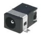 Zásuvka napájecí DC vidlice 3,5mm 1,3mm MINI vodorovné SMT
