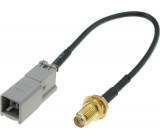 Adaptér GPS GT-5 zásuvka, SMA-B vidlice 0,15m