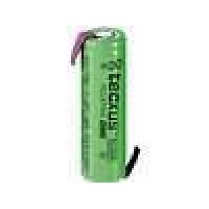 Aku baterie Ni-MH AA 1,2V 2,1Ah Vývody pájecí očka