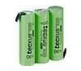 Aku baterie Ni-MH AA 3,6V 2,1Ah Vývody pájecí očka