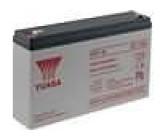 Aku baterie kyselino-olověné 6V 7Ah 151x34x97,5mm