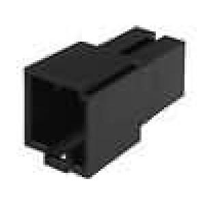 Těleso konektoru zásuvka Mini ISO 8PIN piny 341444