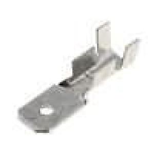 Konektor plochý 6,3mm 0,8mm kolík 1,5-2,5mm2 krimpovací
