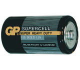 Baterie GP Supercell R20 (D, velké mono)