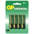 Baterie GP Greencell R6 (AA tužka) blistr