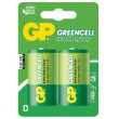 Baterie GP Greencell R20 (D, velké mono) blistr