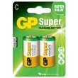 Baterie GP Super Alkaline LR14 (C, malé mono) bl.