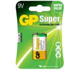 Baterie GP Super Alkaline 9V blistr