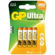 Baterie GP Ultra Alkaline R03 (AAA) blistr